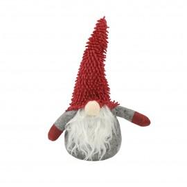 Ozdoba świąteczna MINI SKRZAT z czerwoną czapką