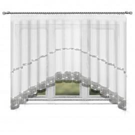 Firana WENDY z cyrkoniami na taśmie 400x150cm