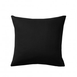Poszewka czarna na poduszkę 50x50cm ALBA