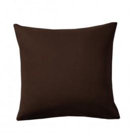 Poszewka brązowa na poduszkę 50x50cm ALBA