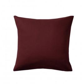 Poszewka bordowa na poduszkę 50x50cm ALBA
