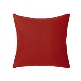Poszewka czerwona na poduszkę 50x50cm ALBA