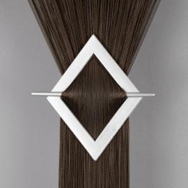 Firana MAKARON gładki brązowy 300x250cm