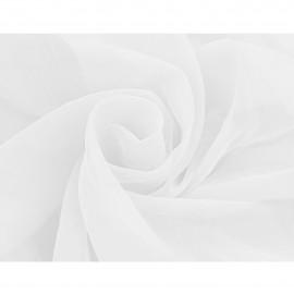 Tkanina - woal gładki w kolorze białym o szerokości 300cm