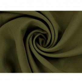 Tkanina - len w kolorze oliwkowym o szerokości 150cm