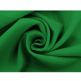 Tkanina - len w kolorze ciemno-zielonym o szerokości 150cm