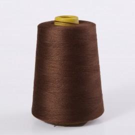 Profesjonalne nici poliestrowe w kolorze brązowym 3300m