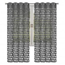 Zasłona DARIA wycinana laserowo na przelotkach 145x250cm