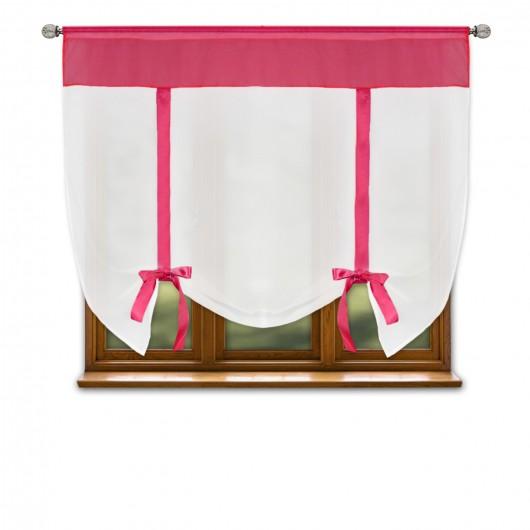 Firana gotowa RUBY z woalu na taśmie 150x150cm - Nie Tylko Firany