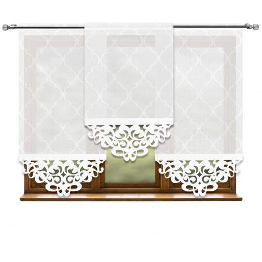 Komplet paneli ażurowych MIRIAM 180x140cm - Nie Tylko Firany