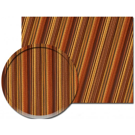 Firana MAKARON żółty-pomarańcz-brąz 300x250cm - Nie Tylko Firany