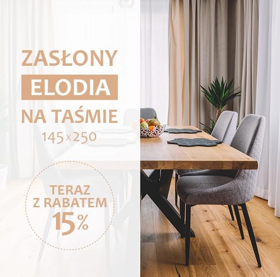 Zasłony Elodia - promocja